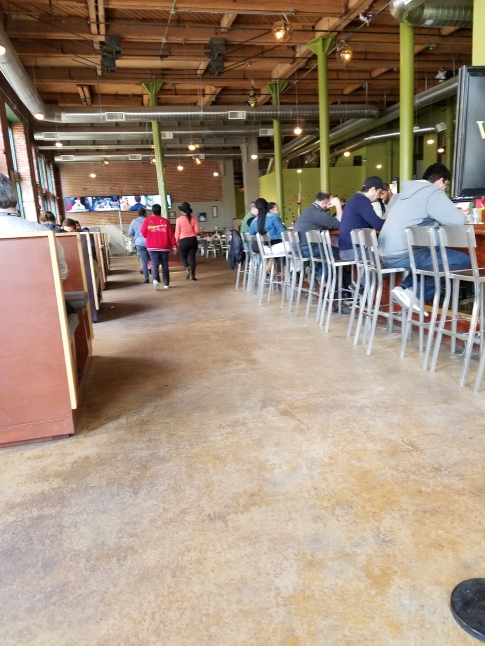 The Restaurant Itself Has A Huge Open Almost Warehouse Like Layout The Service Was Nothing Really To Write Home About But The Menu Offers An Array Of